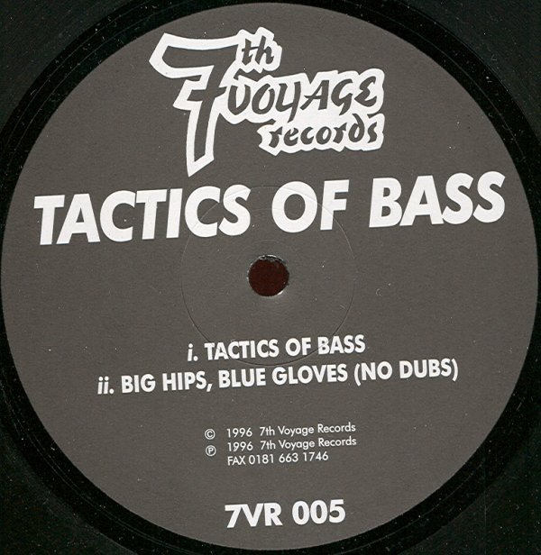 Tactics of Bass - Big Hips, Blue Gloves